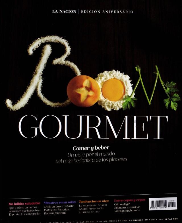 La Nación Gourmet, 21 de diciembre de 2012  tapa