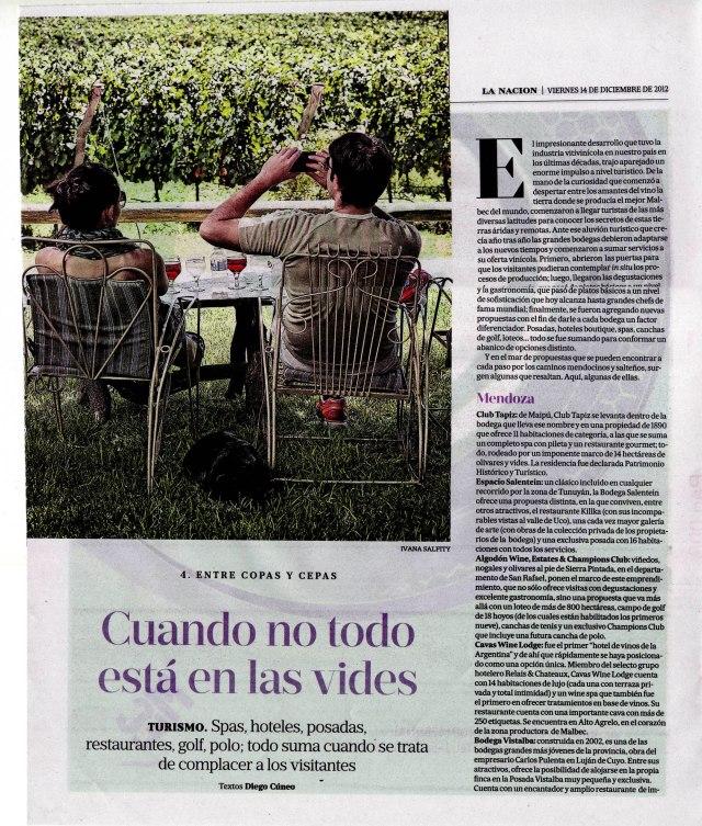 La Nación Gourmet, 21 de diciembre de 2012