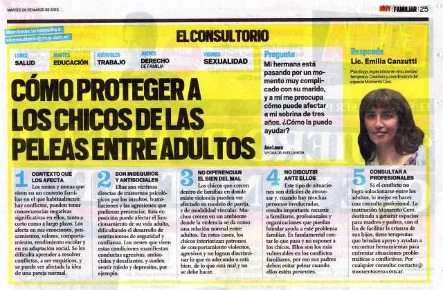 Diario Muy, 26 de marzo de 2013