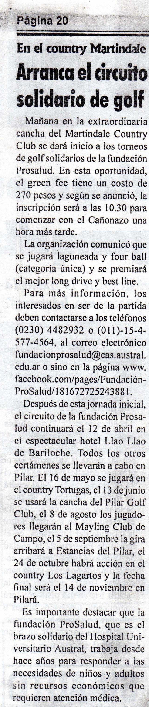 Diario Resumen, 13 de marzo de 2013 Pág 20