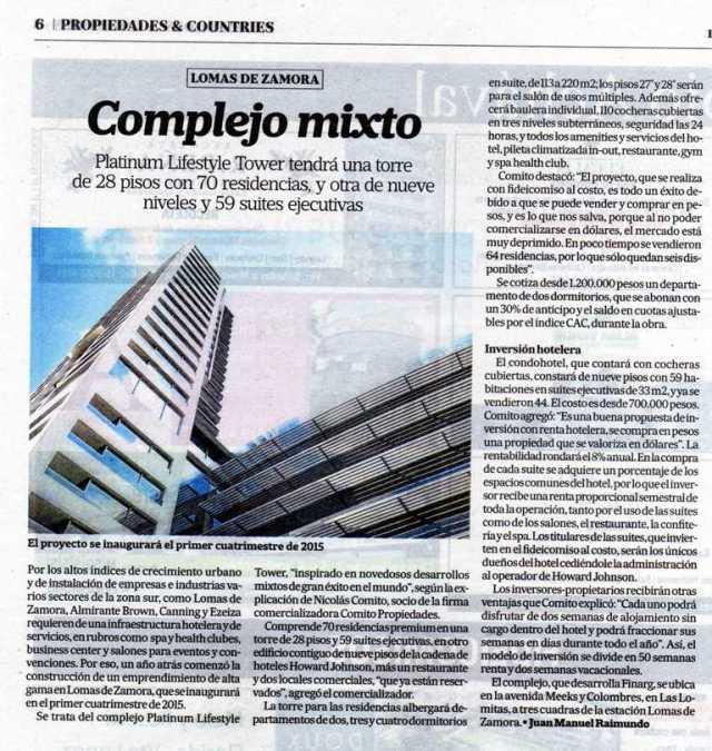 La Nación Propiedades, 4 de mayo de 2013
