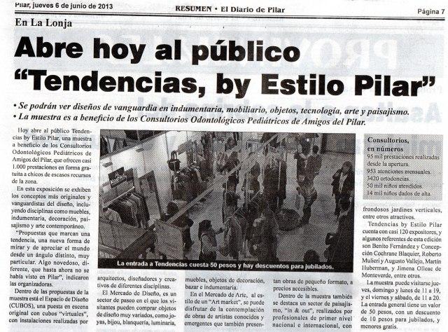 Diario Resumen, 6 de junio de 2013