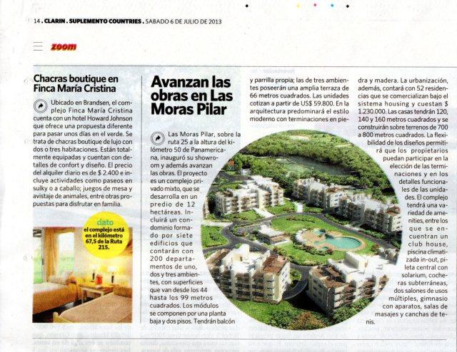 Diario Clarín Countries, 06 de julio de 2013