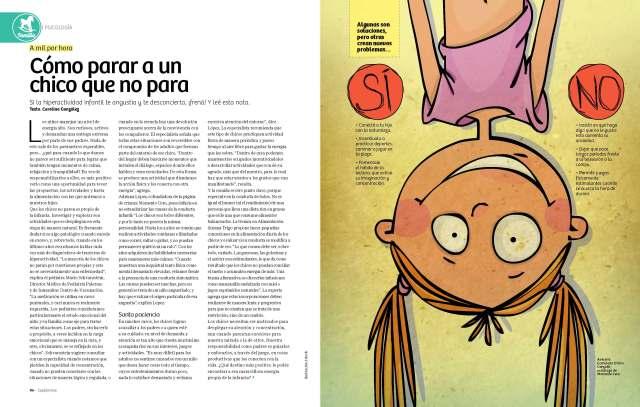 Revista Maru septiembre niños hiperactivos