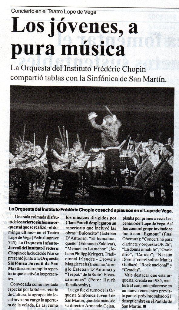 El Diario de Pilar, sábado 31 de agosto de 2013